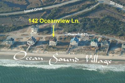 Fotografía aérea mostrando la ubicación de inicio