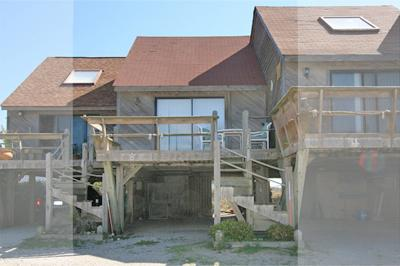 5 Topsail Villas - Sea Reel - 2BR Oceanfront Townhome in North Topsail Beach, vacation rental in North Topsail Beach