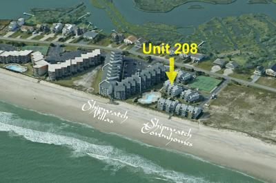 208 Shipwatch TH - 3BR Ocean View Townhome in North Topsail Beach with Community, vacation rental in North Topsail Beach
