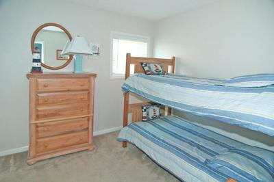 Bedroom 2 with a set of twin bunks