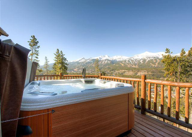 Huron Heights Retreat Hot Tub Deck Breckenridge Luxury Home Rent