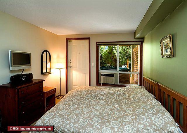 Two twin bed that can be joined to make a king upon request.