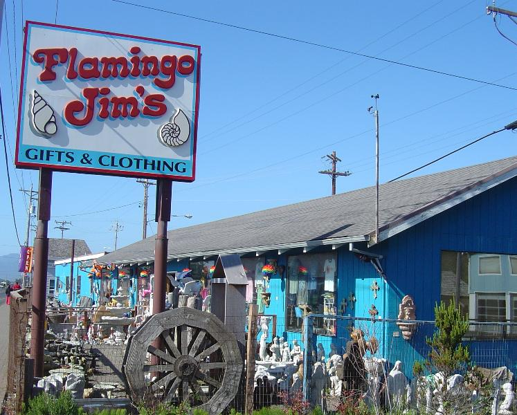 Flamingo Jim's is just down the road - every kids dream!