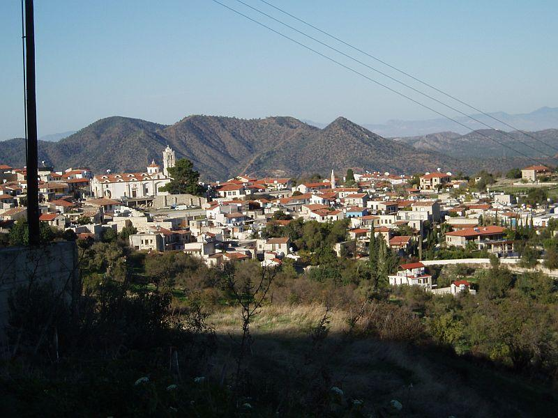 View of the Village of Lefkara