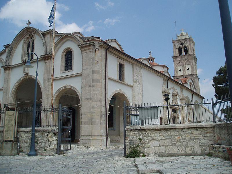The Church of the Holy Cross in Lefkara