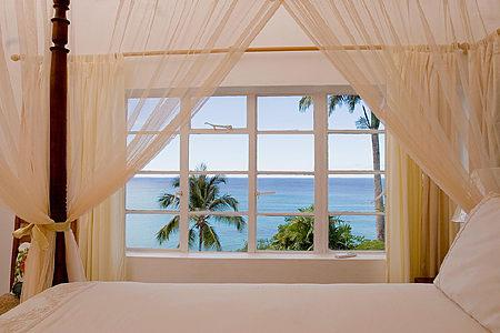 Vista al mar desde su ventana...