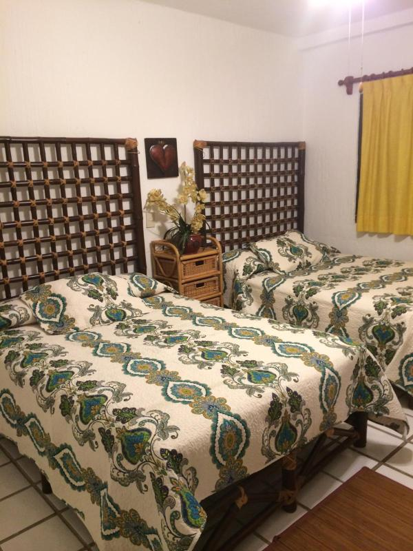 Second bedroom with double beds