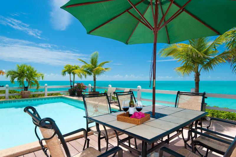 Dine alfresco by your own private pool and enjoy the cool ocean breezes
