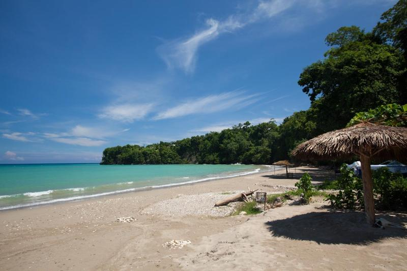 One of  five Pristine white sand beaches , within 5 minutes of the villa