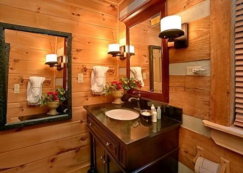 Cuarto de baño, Interior, Loft, Muebles, Cocina