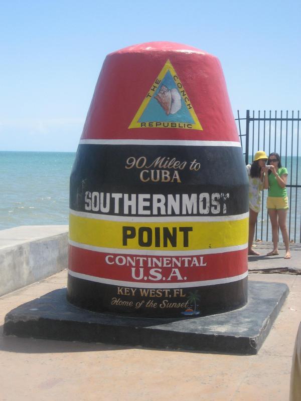 Onze zeer eigen 'zuidelijkste punt' in Key West