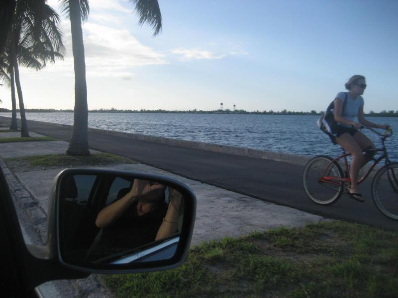 Onze fietspad neemt u overal op het eiland. Mijn gasten hou van het gebruik van de fietsen om te zien het allemaal!