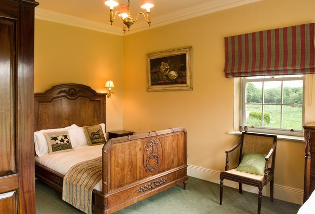 Bedroom 4. Double Bedroom with Antique French Bed and Large Shower ensuite