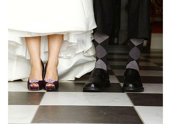 Getting married at Rathellen House - the bride and groom in the Entrance Hall