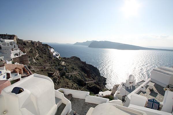fotinos honeymoon house-view from window