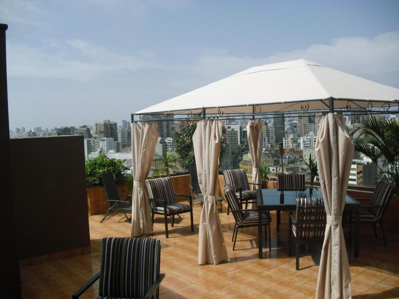 A usage privé vue mer terrasse
