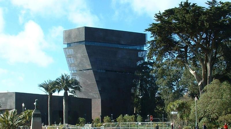 Golden Gate Park DeYoung Museum 10 minute bus ride or 45 minutes walking from YourHomeInSanFrancisco