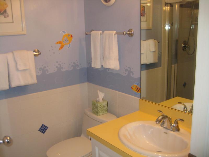 Fish Room private bath
