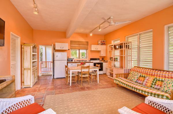 Private Cottage bietet zusätzliche Leben, dinieren und Schlafplatz