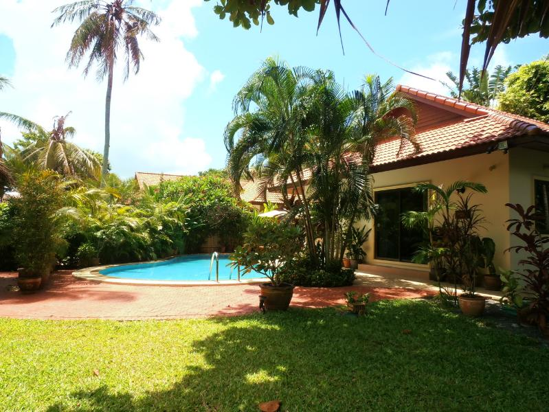 The Lush Gardens with Beautiful Pool