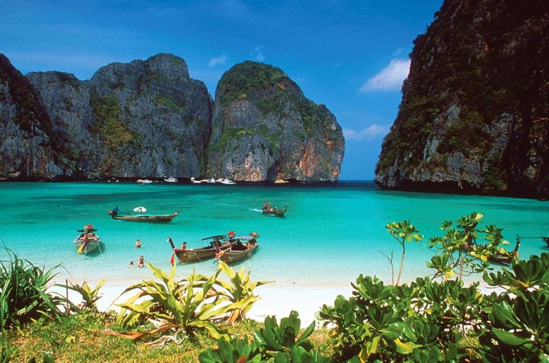 Phi Phi Islands a Short Boat Trip Away