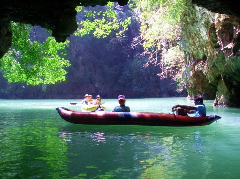 Canoe Adventure in Phang Nga Bay