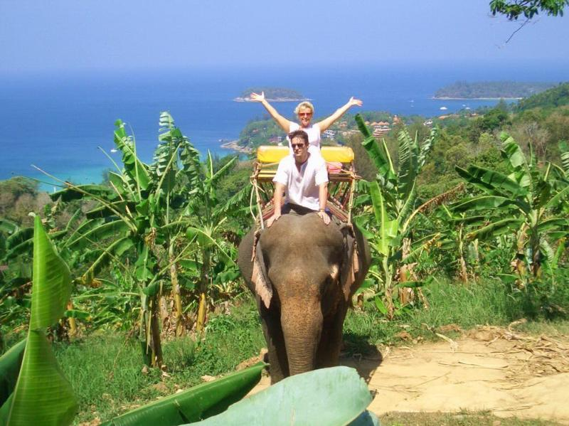 Ride an Elephant through the Jungle near Rawai