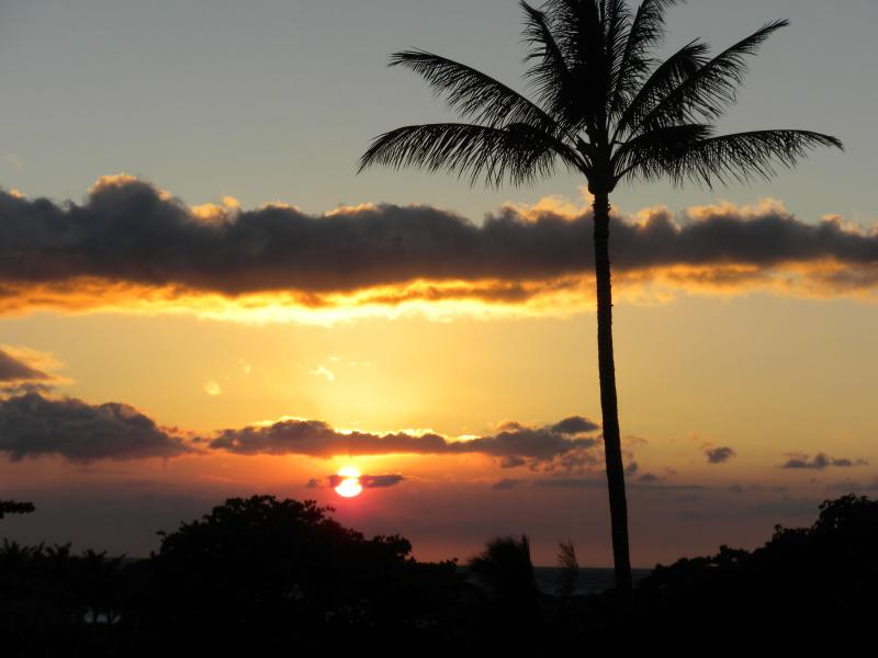 Another sunset photo from our lanai