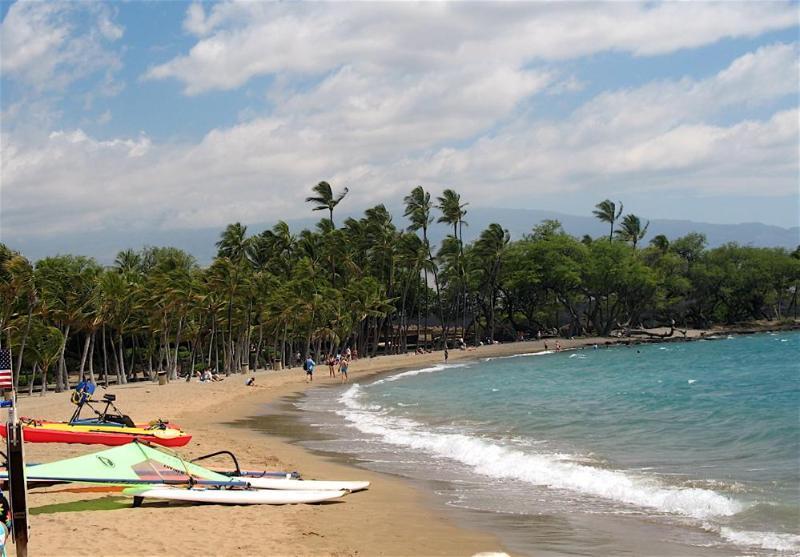 A-Bay, an 8 minute walk to this wonderful beach