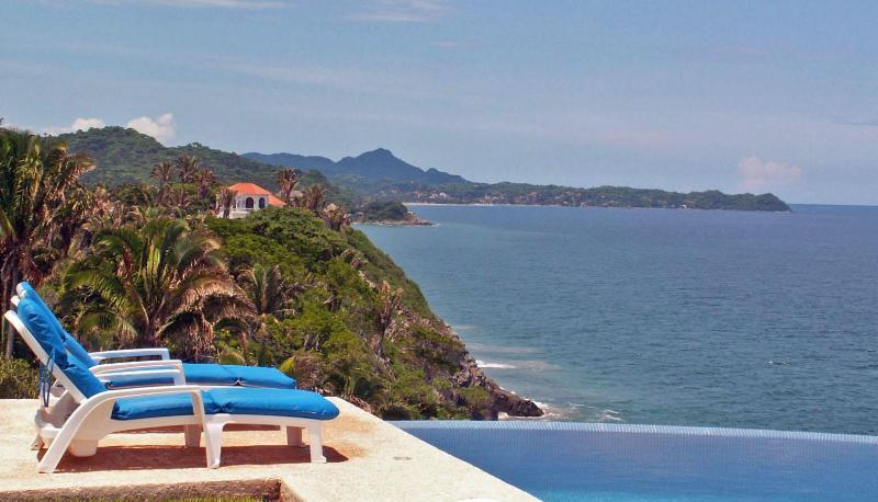 Casa Melissa - heated infinity pool, stunning views