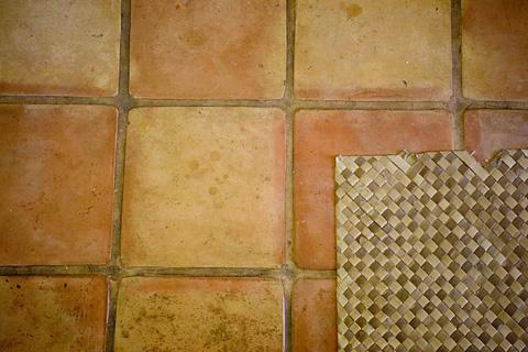Spanish pavers.