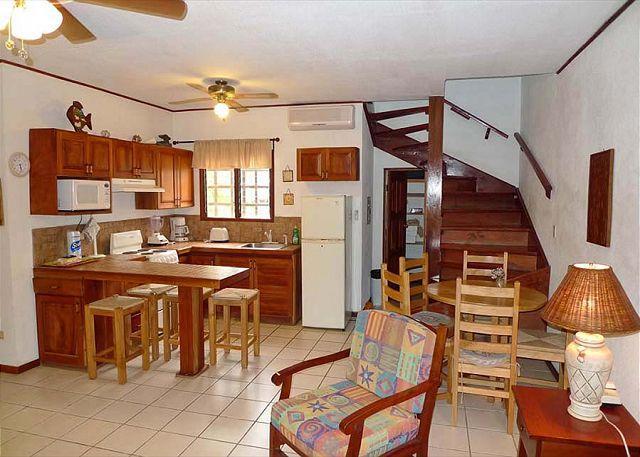 Dining kitchen area-