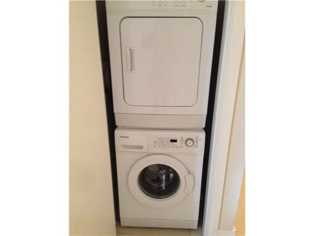 Insuite laundry (washer & dryer)