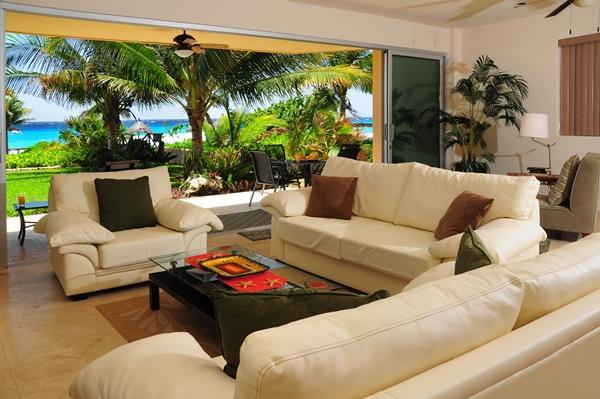 Take in the views fom your living room