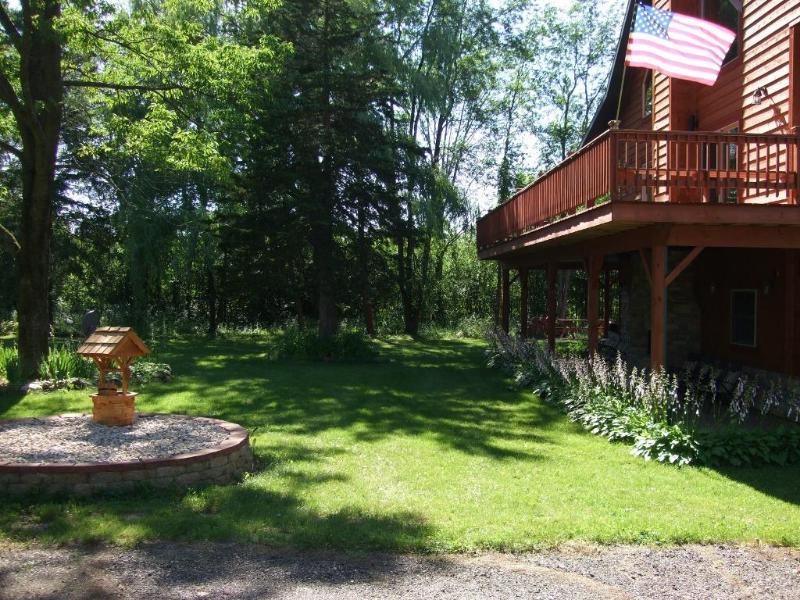 One of many nice views around the Lodge