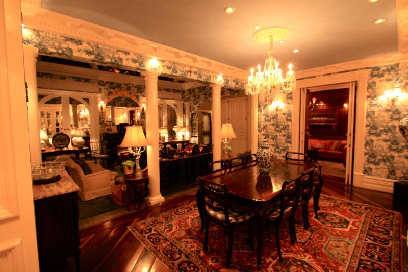 The Dining Room, dimmed lighting
