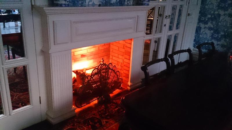 The Dining Room - Fireplace