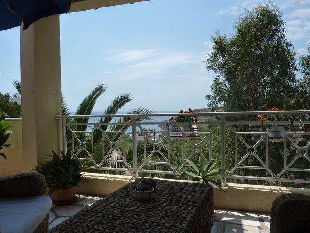 Villa Abela Balkon