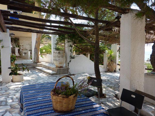 Villa Abela Patio Dining Area