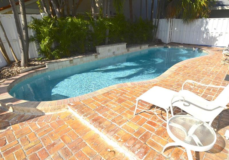 Private Rear Yard & Lounge Area w/Outdoor Dining & Spectacular Large Heated Pool...