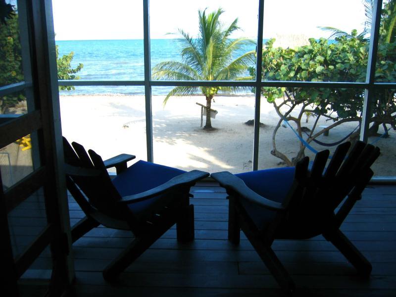 Blick von der Veranda ... great coffee spot!