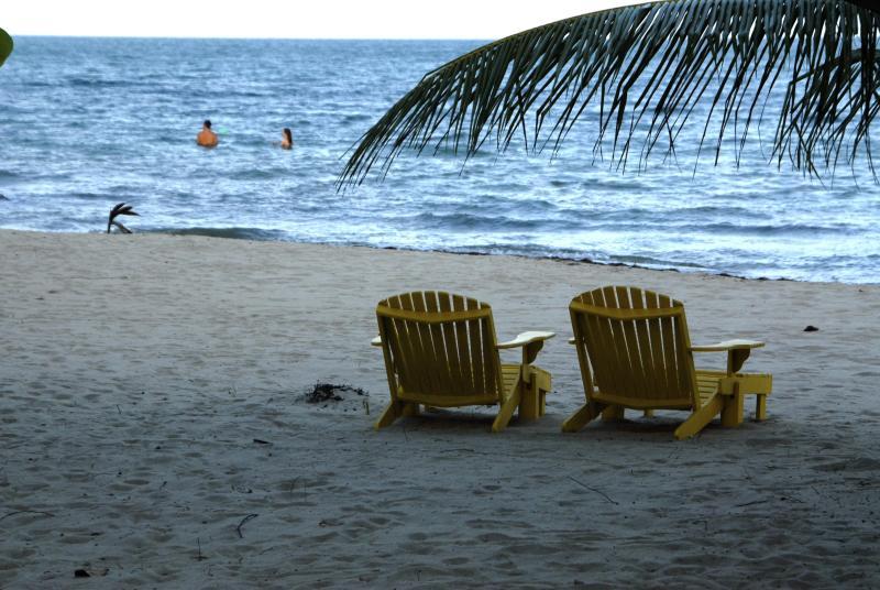 practically a private beach