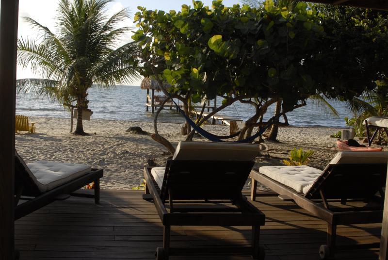 Sand Level-Deck mit einem Ping-Pong-Tisch !!