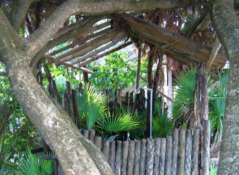 Seagrape's Private outdoor shower!