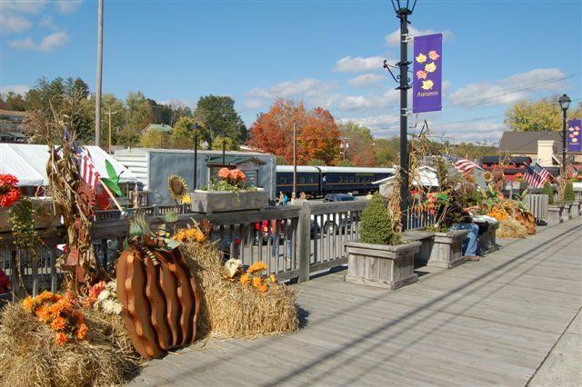 Fall  in Downtown Blue Ridge
