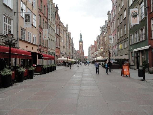 Dluga St. -- 10 minutes walk away...