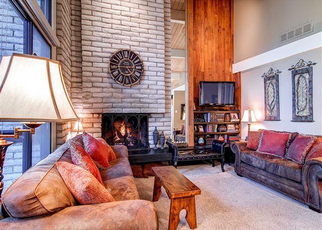 Tamarisk Living Room Breckenridge Lodging Vacation Rentals