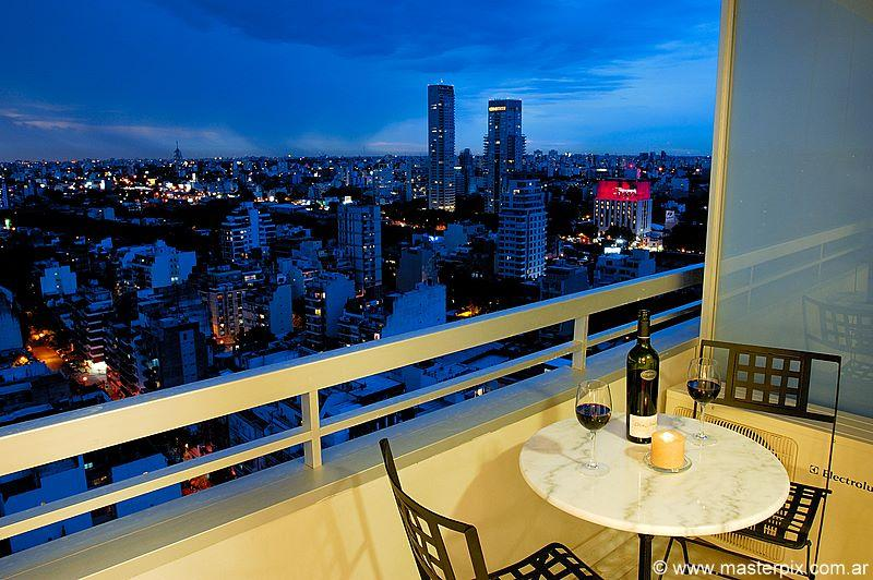 BEST view in all of Buenos Aires from this luxurious property.