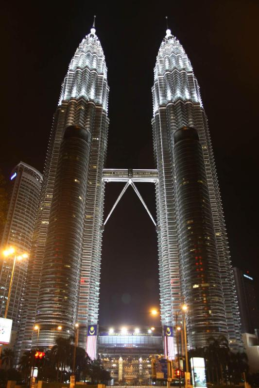 The famous Petronas Twin Towers, just 10 mins drive from the apartment