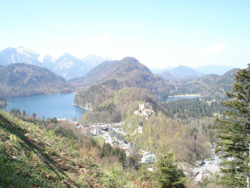 our area: mountains, lakes and castles